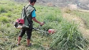 किसानलाई दूध दुहुने र घाँस काट्ने मेसिन हस्तान्तरण